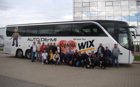 AUTO DE-MI u posjeti kompaniji WIX